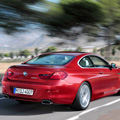 The BMW 6 Series Rear View