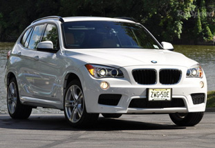 bmw x1 front view