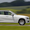 The BMW X1 Side View